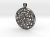Round mashrabiya pendant 3d printed