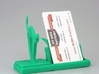 mr cat says Meow! business card holder 3d printed