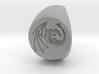 Custom Signet Ring 63 3d printed