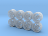 Rays Volk Racing CE28N 8-6 Hot Wheels Rims 3d printed
