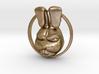 Mad Rabbit Pendant 3d printed