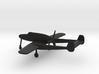 Saab J.21A 3d printed
