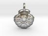 Shell Pendant Charm 3d printed
