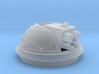 Bubble Canopy Gun - Fleur de Lis 3d printed