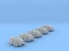 5x Mako Shark = Cataphractii Shoulder Sets 3d printed