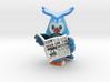 Naughty Owl 3d printed