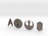 SciFi pins 3d printed