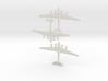 1:200 Me-264 (3 Pack) 3d printed