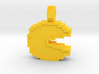 8-bit Pacman Pendant 3d printed