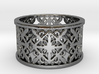 NOBLESSE 6 Ring Design Ring Size 8.5 3d printed