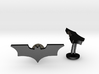 Batman Dark Knight Wedding Cufflinks 3d printed