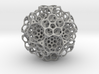 Christmas tree decoration ornament - 120cell_B5_r5 3d printed