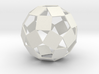 Open Rhombicosadodecahedron 3d printed