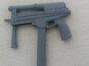 1/6 jatimatic smg 57.5mm final version..as used in 3d printed primed version