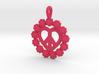 14-Daisy Circles/ Pretzel Heart  3d printed