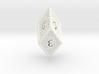 Hedron D6 (Solid), balanced gaming die 3d printed