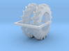 1/64 13.6-38 rice cane tractor tires 3d printed