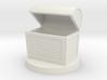 Fantasy chest mini (Empty) 3d printed