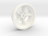 1:25 Front American Five Spoke Wheel 3d printed