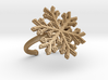 Snowflake Ring 1 d=16.5mm Adjustable h21d165a 3d printed