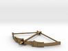 Recurve Bow Pendant 3d printed