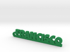 FRANCISCO_keychain_Lucky 3d printed