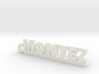 MONTEZ_keychain_Lucky 3d printed