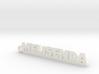 MELISENDA_keychain_Lucky 3d printed