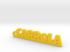 CARROLA_keychain_Lucky 3d printed