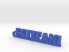 ESTEFANI_keychain_Lucky 3d printed