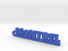 MONTREL_keychain_Lucky 3d printed