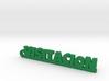 VISITACION_keychain_Lucky 3d printed