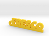 FRESCO_keychain_Lucky 3d printed