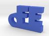 FE_keychain_Lucky 3d printed
