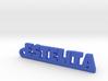 ESTELITA_keychain_Lucky 3d printed