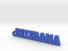 ESTEBANA_keychain_Lucky 3d printed
