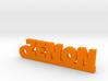 ZENON_keychain_Lucky 3d printed