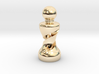 Chess Pawn Double Helix 3d printed