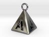 Pyramid 5-initials 3d printed