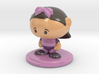 Collectame - Female Purple 3d printed