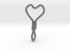 Hung Up Heart 3d printed