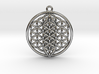 Flower Of Life w/ 15 Sephirot Tree of Life 3d printed