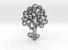 Life Tree Pendant 3d printed