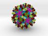 Antibodies Bound to Zika Virus 3d printed