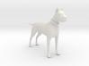 Printle Thing Danish Dog - 1/24 3d printed