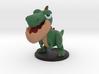 Dinopop Rex 3d printed