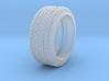 Reifen 195/45R14 für 8Zoll-Felge, Maßstab 1:24 3d printed