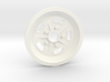 1:8 Front Halibrand Style Salt Flat Wheel 3d printed