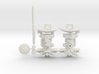 Cassini Spacecraft with removable Huygens Probe 3d printed
