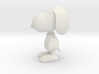 1/24 Snoopy for Diorama 3d printed